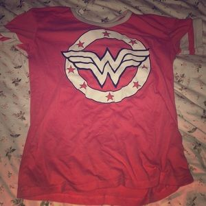 This is a cute Wonder Woman for any kid under 13!